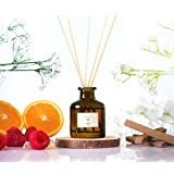 Take me to 'Hilton' Hotel Inspired Reed Diffuser Set| Reed Diffuser Sticks with Oil 1.6oz| Scented Sticks with Notes of Tange