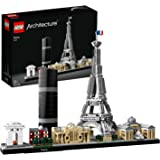 LEGO Architecture Skyline Collection 21044 Paris Skyline Building Kit with Eiffel Tower Model and Other Paris City Architectu
