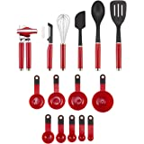 KitchenAid Tool and Gadget Set 15-Piece Empire Red