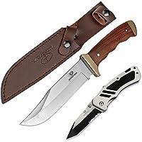 MOSSY OAK ナイフセット サバイバルナイフ 折りたたみナイフ ビットホルター付き ビット付 ケース付き 多機能…