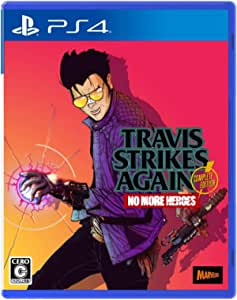 Travis Strikes Again: No More Heroes Complete Edition (【特典】オリジナルステッカー 同梱) 【Amazon.co.jp限定】オリジナルデジタル壁紙(PC・スマホ) 配信 - PS4