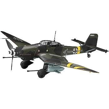 ハセガワ 1/32 ドイツ空軍 ユンカース Ju87G スツーカ カノーネン フォーゲル プラモデル ST25