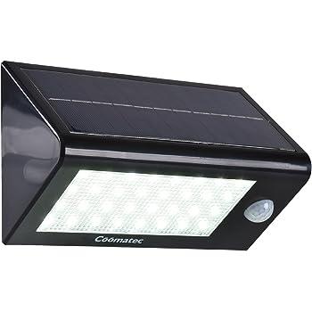 Coomatec 32LED ソーラー センサーライト 屋外 人感センサーledライト 玄関ライト MS-320
