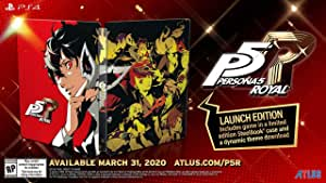 Persona 5 Royal: Steelbook Launch Edition(輸入版:北米)- PS4