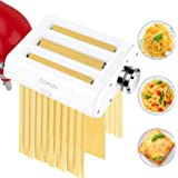 Pasta Maker Attachments for KitchenAid Stand Mixers, COFUN 3 in 1 Stainless Steel Pasta Maker Attachments Includes Pasta Shee