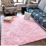 ST. BRIDGE Super Soft Indoor Modern Fluffy Area Rugs for Girls Room Kids Bedroom Livingroom, Cozy and Comfy Carpet, Luxury So