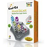 Kool-Ed -Maze Escape the best Gravity Maze Marble Run Brain Teaser Puzzle. STEM Educational Games Gives Hours of Fun While De
