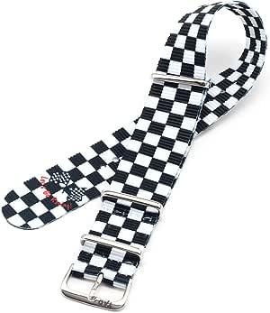 Checkerflag wht (18mm)