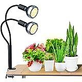 植物育成ライト 2020最新版 LED育成ライト 4段階調光 交換用電球設計 60個LED ハニカムレンズ 全光スペクトル 多肉植物育成 室内栽培 水耕栽培 栽培ライト