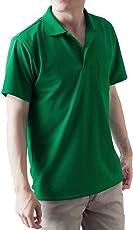 ティーシャツドットエスティー ポロシャツ ドライ 半袖 無地 ポケット付き UVカット 4.4oz メンズ