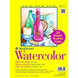 Strathmore STR-361-9 Watercolor Class (24 Pack), 9 by 12""