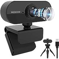 Webカメラ HD1080P/30fps フルHD ウェブpc カメラカメラ マイス に適用する会議用 オンライン会議…