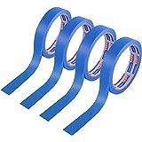 【Amazon 限定ブランド】ADHESマスキングテープ 和紙テープ 養生テープ 塗装用 多用途 UV抵抗 幅30mm×広さ18m 4巻入り HCC1109