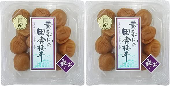 神尾食品工業 国産 昔ながらの田舎梅干 230g×2個