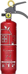 モリタ宮田工業 住宅用強化液(中性)消火器 キッチンアイ ルビーレッド MVF1HAR