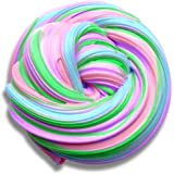 Fluffy Floam Jumbo Multicolor Slime Stress Relief and Non-sticky for Kids and Adults