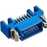 本多通信工業 MRシリーズ MR-20RMA+ 取り付け付きパネル用半田付けタイプ 雄 20芯 販売単位 5個