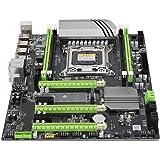 LGA 2011マザーボード DDR3 X79Tコンピュータデスクトップメインボード PCIEx4チャンネル デュアルUSB3.0 4Gb / sギガビットNIC 8フェーズ電源マザーボード
