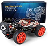 SunFounder Raspberry Pi Smart Video Car Kit V2.0 Block Based Graphical Visual Programming Language Remote Control by UI on Wi