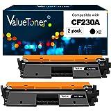 Valuetoner Compatible Toner Cartridge Replacement for HP 30A CF230A 30X CF230X for Laserjet Pro MFP M203dw M227fdn M227fdw M2