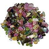 【世界の原石:トルマリン小粒セット 50ct:9177】長辺3~5mm Natural Tourmaline Rough 鉱物 宝石 標本