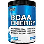 Evlution Nutrition BCAA Energy - High Performance Energizing Amino Acid Supplement For Muscle Building Recovery And...