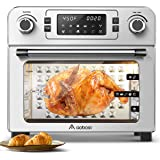 Aobosi Toaster Oven Air Fryer Oven Toaster Convection Oven Digital Countertop Rotisserie Oven Pizza Oven 10-in-1 Multi-Functi