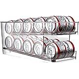 BingoHive Rolling Beverage Rack Can Dispenser Rack Plastic