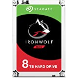 Seagate 8TB IronWolf NAS SATA 6Gb/s NCQ 256MB Cache 3.5-Inch Internal Hard Drive (ST8000VN004)