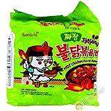 Samyang Hot Chicken Jjajang Ramen, 140g x 5s,Ven-VND15-149