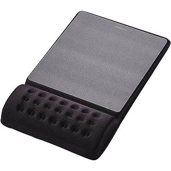 """エレコム マウスパッド リストレスト一体型 疲労低減""""COMFY"""" ハード(ブラック) MP-096BK"""
