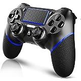 Aesval PS4 コントローラー ワイヤレス PS4 ワイヤレス ゲームパッド PS4 Pro/Slim PC Win10対応 無線 Bluetooth 二重振動