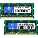 PC3-10600 ノートPC用 メモリ DDR3 1333MHz 4GB×2枚 CL9 204Pin Non-ECC…