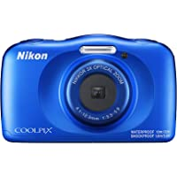 Nikon Digital Camera COOLPIX W150 Waterproof W150BL Cool Pix, Blue