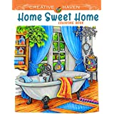 Creative Haven Home Sweet Home Coloring Book: AWESOME Edition, adult coloring book Creative Haven Home Sweet Home