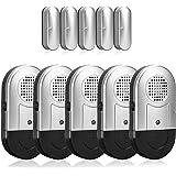Wireless Door Window Open Alarm Home Security Magnetic Burglar Alarm Detector 125DB Anti-Theft Alert Sensor Low Battery Light