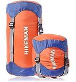 コンプレッションバッグ 寝袋用 圧縮袋 軽量 圧縮バッグ 収納袋 防水 キャンプ アウトドア 調整可能 耐摩耗 丈夫 コ…