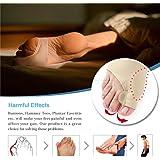 Gel Metatarsal Pad - Arch Support Sleeve - Soft Gel Sleeves Silica Gel Pads for Flat Foot & Plantar Fasciitis Elastic & Breat