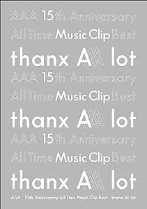 【メーカー特典あり】AAA 15th Anniversary All Time Music Clip Best -thanx AAA lot-(Blu-ray Disc2枚組)(ポストカード付き)
