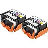 【インク革命製】 エプソン用 ICCL81 (4色 一体タイプ×2個パック) EPSON対応 互換 インクカートリッジ 対応機種:PF-70 / PF-71 / PF-81