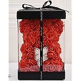 Rose Bear - Rose Teddy Bear -Over 250+ Flowers on Every Rose Bear Perfect for Anniversary's, Birthdays, Bridal Showers, Mothe