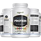 Organifi: Complete Protein - Vegan Protein Powder - Organic Plant Based Protein Drink - No Soy, Dairy or Gluten - Digestive E