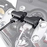 デイトナ バイク用 USB電源 合計5V/4.8A ブレーキスイッチ接続 メインキー連動 USB-A 2ポート 99503