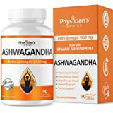 Ashwagandha 1950mg Organic Ashwagandha Root Powder Extract of Black Pepper Anxiety Relief, Thyroid Support, Cortisol & Adrena