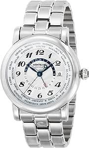 [モンブラン] 腕時計 STAR WORLD TIME ホワイト文字盤 自動巻き 106465 メンズ 並行輸入品 シルバー