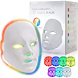 YOOVE LED Face Mask - 7 Colors Including Red Light Therapy For Skin Rejuvenation Light Therapy Facial Care Mask