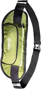 LICLI ランニングポーチ メンズ レディース 大容量 ウエストポーチ ペットボトル スマホ 防水 軽量 「 6.6インチ iPhone 8 plus X 対応 ウエストバッグ 」「 登山 ランニング ウォーキング ジョギング ポーチ 」 3カラー
