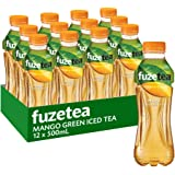 Fuze Mango Green Iced Tea Bottle, 12 x 500 ml