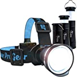 LED Headlamp - Camping Lantern & Flashlight - The Best & Only Camping Hiking Backpacking Outdoors Set You'll Ever Need Super