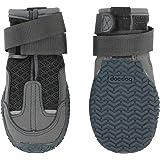 犬用靴 いぬくつ スモーキーグレー 2個入り|獣医師監修 犬靴・靴下ブランドdocdog (XXS)